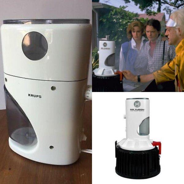 Ядерный реактор «Мистер Фьюжн» для автомобиля DeLorean — это модифицированная кофе-машина фирмы KRUPS