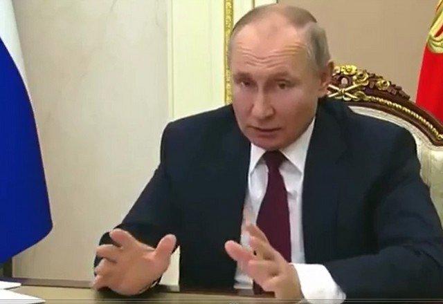 Владимир Путин ответил Джо Байдену,  который назвал российского лидера «убийцей»