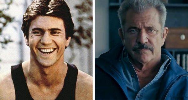 Мел Гибсон в фильмах «Тим» 1979 года и «Сила стихии» 2020-го
