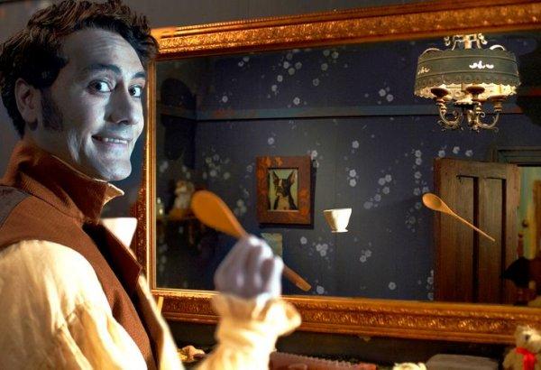 Вампиры, по легендам, не отражались в зеркале