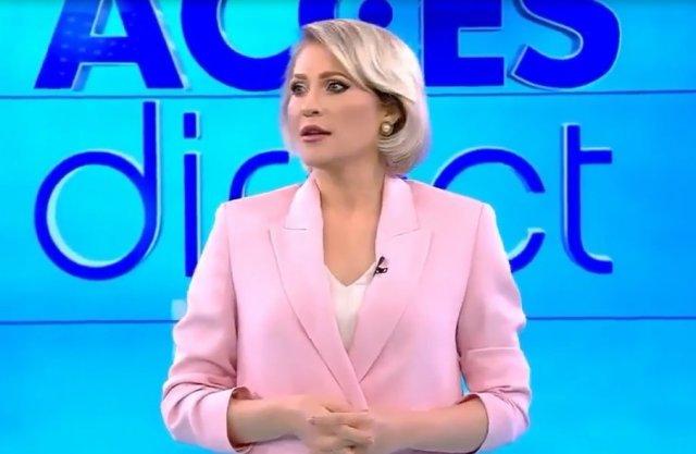 Голая женщина набросилась на ведущую шоу «Прямой доступ» Мирелу Вайду
