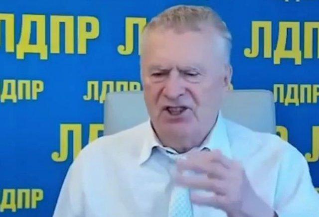Владимир Жириновский предложил напасть на Украину без предупреждения