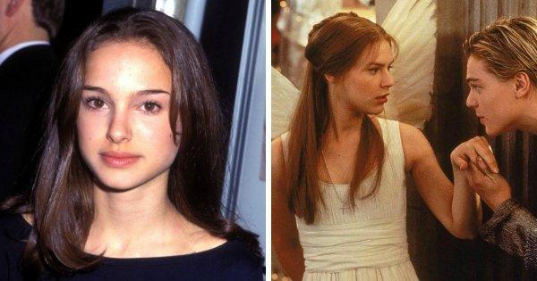Натали Портман была заменена на Клэр Дэйнс в фильме «Ромео + Джульетта» (1996)