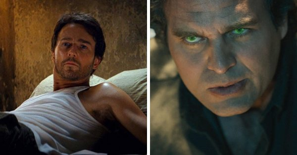 Эдвард Нортон был заменён на Марка Руффало в фильме «Мстители» (2012)