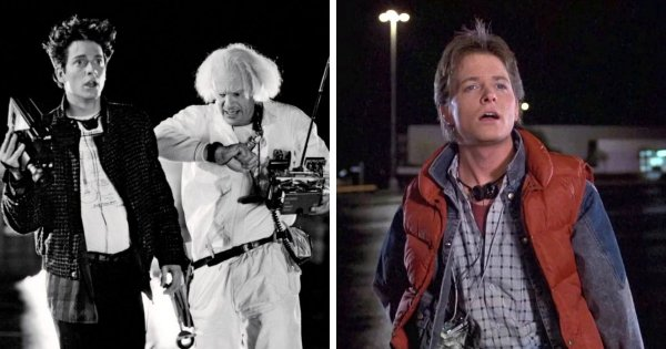Эрик Штольц был заменён на Майкла Джей Фокса в фильме «Назад в будущее» (1985)