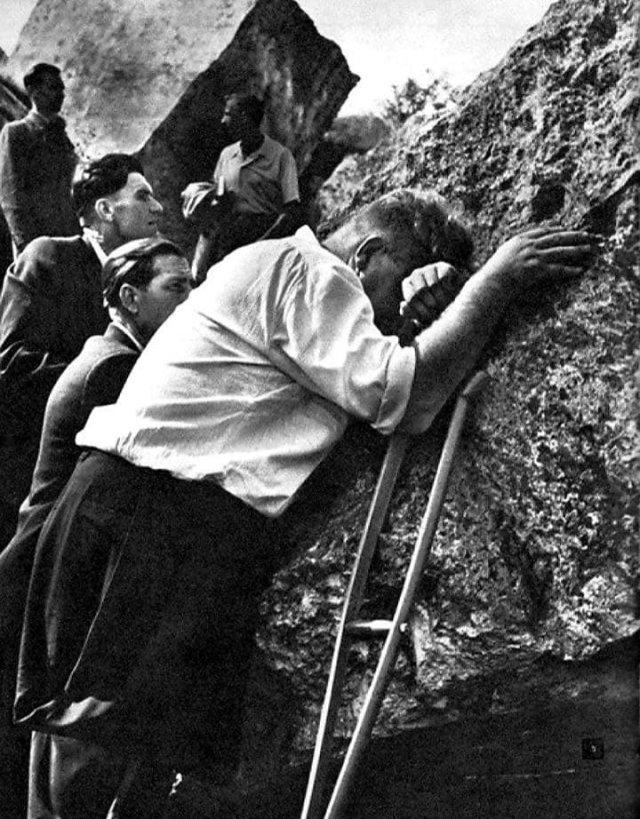 На руинах Брестской крепости.1961 год.
