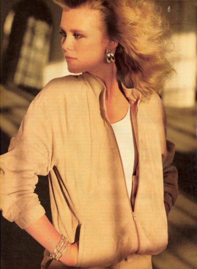 Американская модель и актриса Нэнси Донахью, 1992 г.