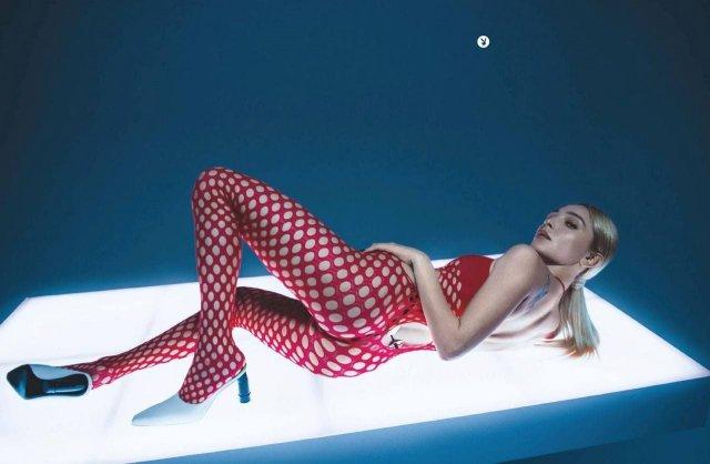 Телеведущая Настя Ивлеева в откровенной фотосессии для Playboy