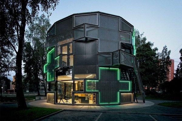 Здание аптеки в Риге, Латвия