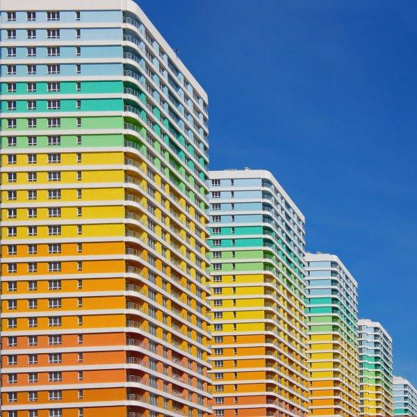 Цветная архитектура Стамбула, Турция