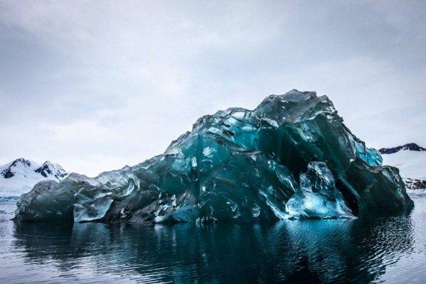 Как выглядит подводная часть айсберга