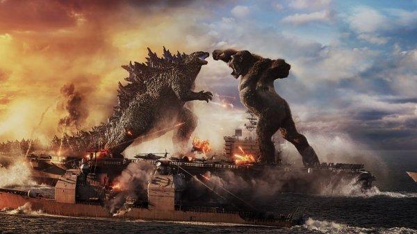 голливудский «Годзилла против Конга» 2021 года