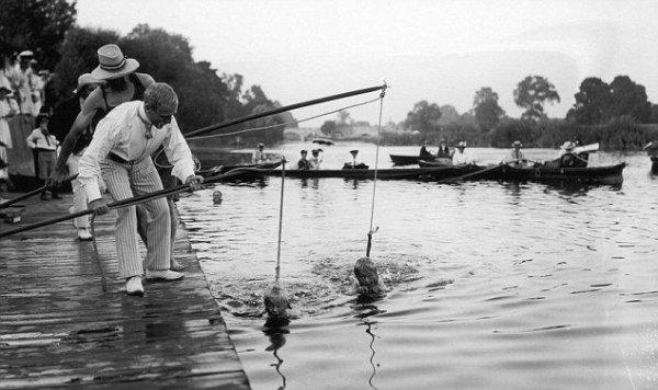 Уроки плавания в 1930-х