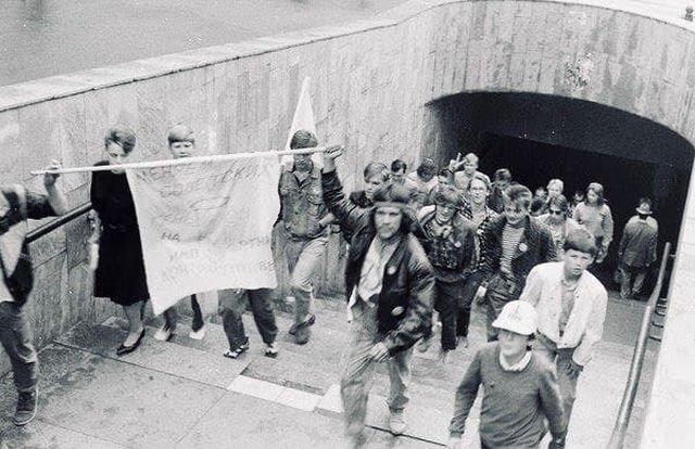 Бойкот дня ВМФ во Владивостоке, 1990 год