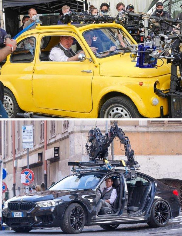 Съемки сцен с вождением на примере фильма «Миссия невыполнима 7»