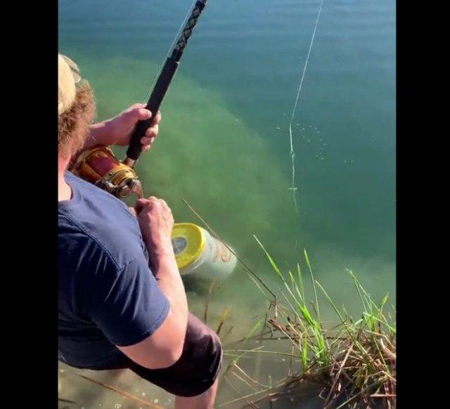 Отличный улов на рыбалке