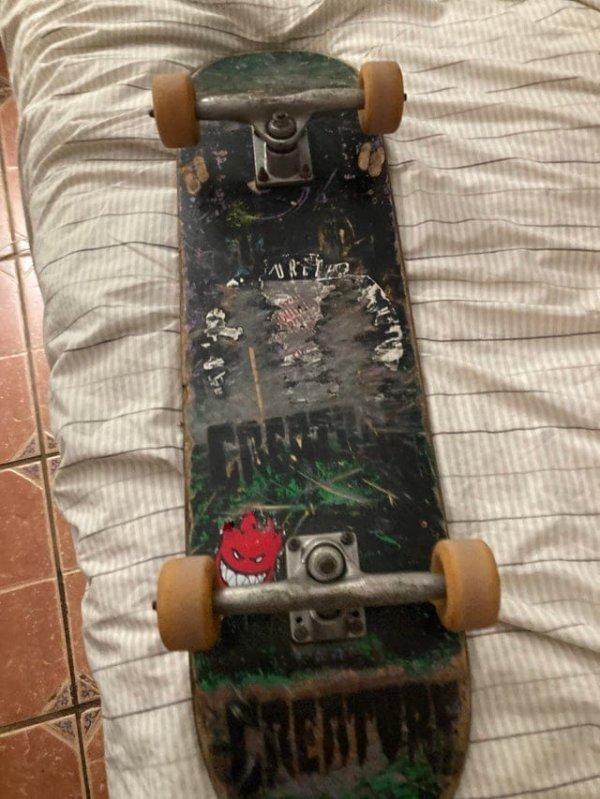 Моему скейту 20 лет, и я не променяю его ни на какой другой