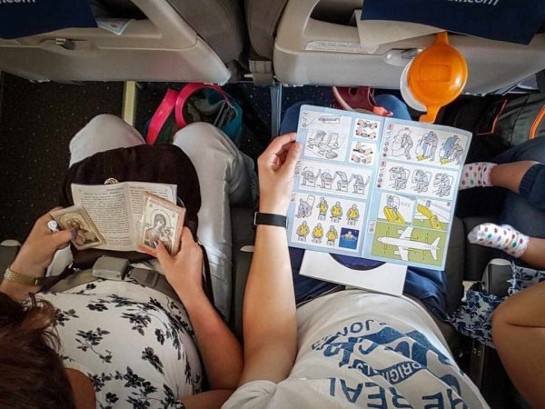 Два типа людей перед полётом