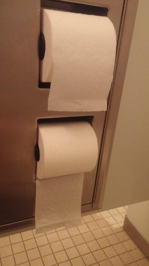Туалетно-бумажная дилемма