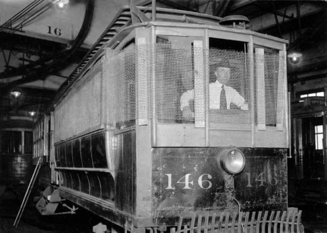 Трамвай для опасных районов, США, 1920-е