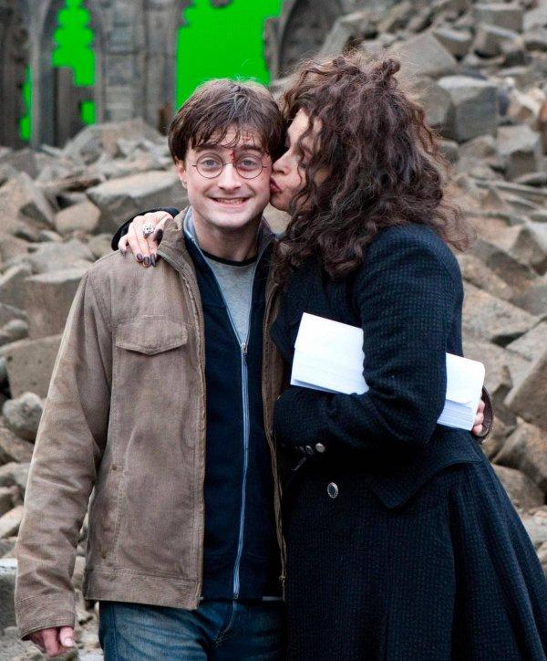 За кадром у Гарри и Беллатрисы были отличные отношения