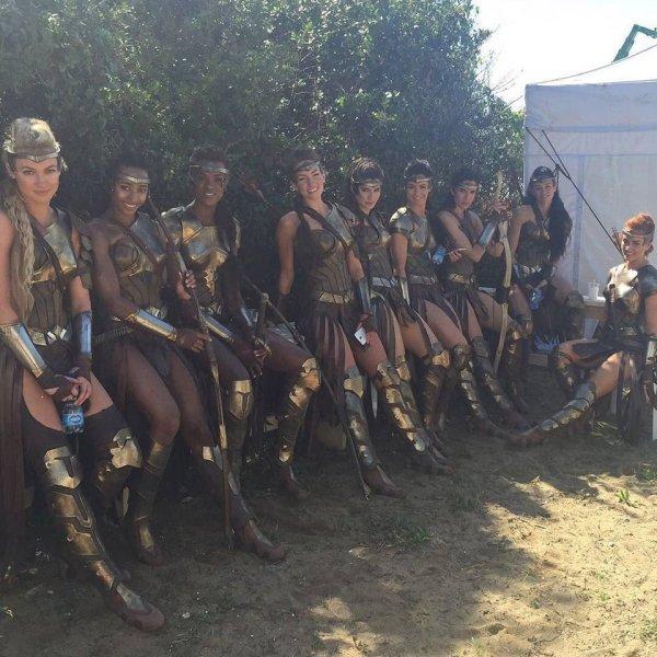 Амазонки из «Чудо-женщины»