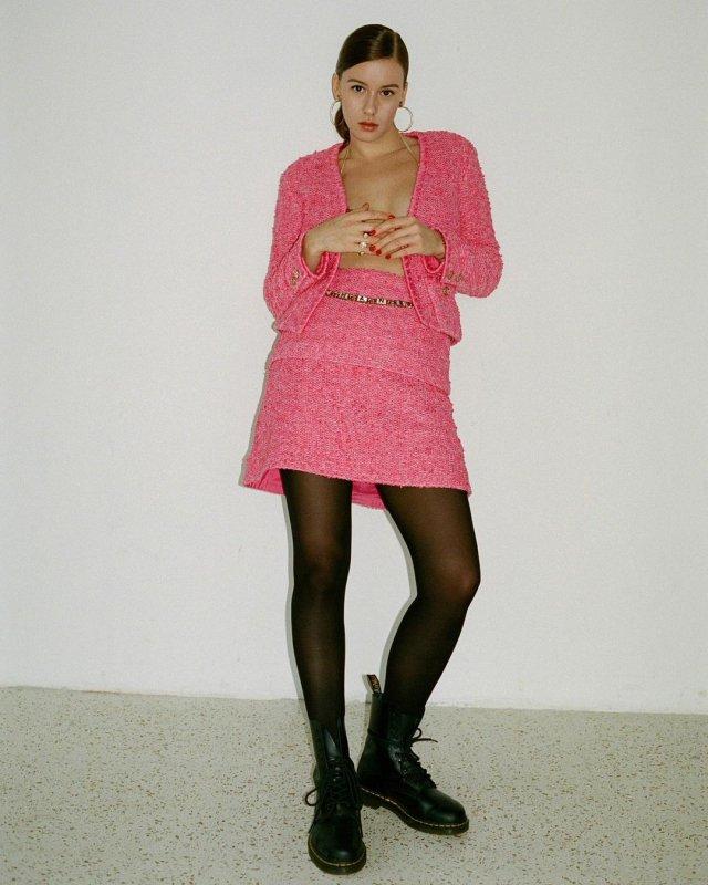 Ирина Старшенбаум в розовой кофте