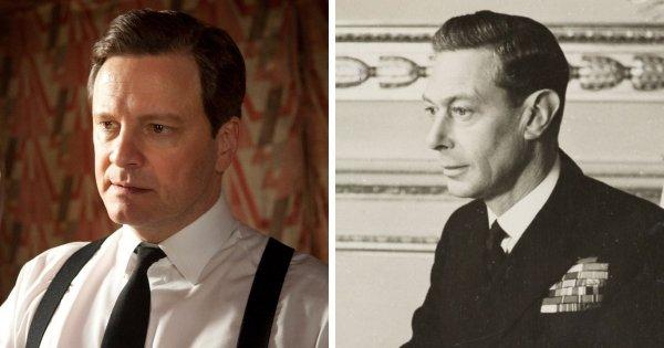 Колин Фёрт в роли короля Георга VI («Король говорит!», 2010)
