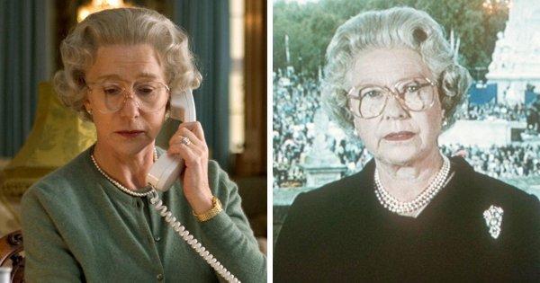 Хелен Миррен в роли королевы Великобритании Елизаветы II («Королева», 2006)