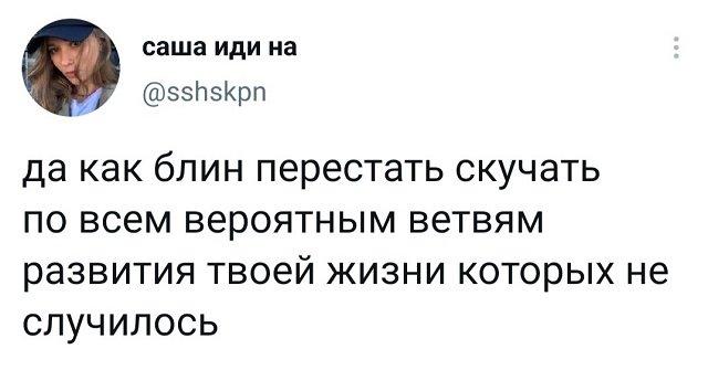 твит про жизнь