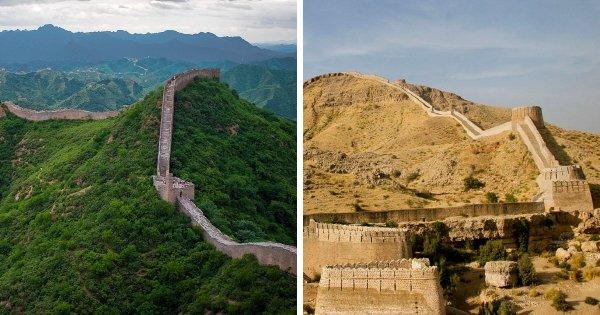 Великая Китайская стена и Крепость Раникот (Пакистан)