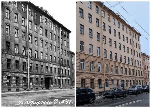 пр. Маклина, 17 (ныне - Английский пр., 17)1949 и 2021