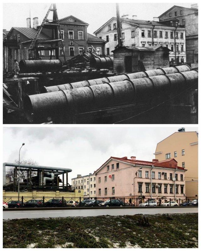 Синопская набережная.1931 и 2021 год.