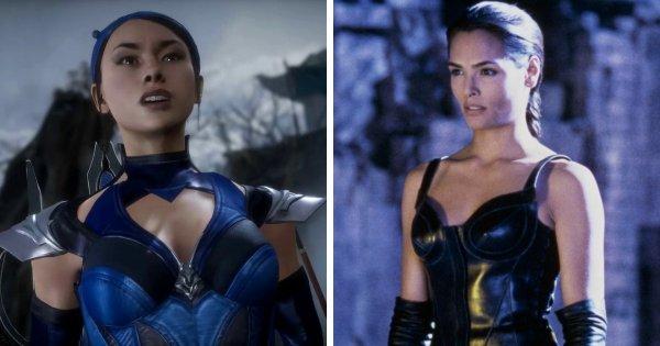 Принцесса Китана — серия игр Mortal Kombat