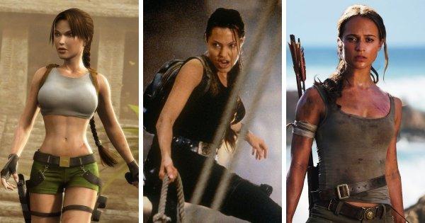Лара Крофт — серия игр Tomb Raider