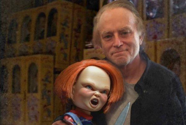 Брэд Дуриф и Чаки из фильма «Детская игра»