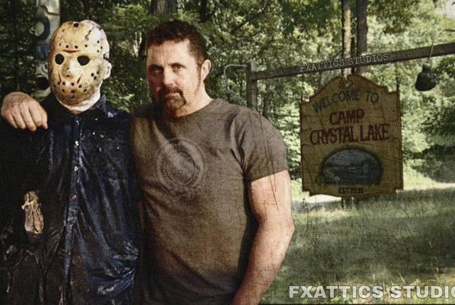Кейн Ходдер и Джейсон Вурхиз из фильма «Пятница, 13-е»
