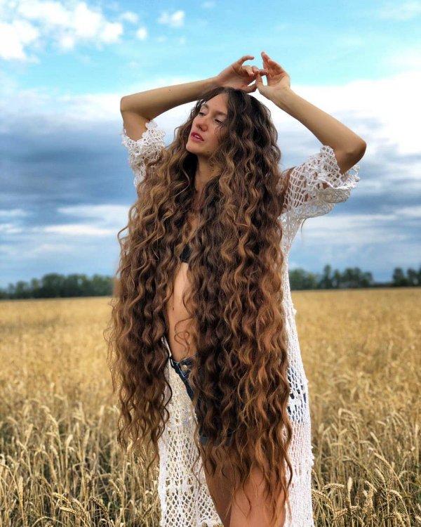 Татьяна Гордикова в поле