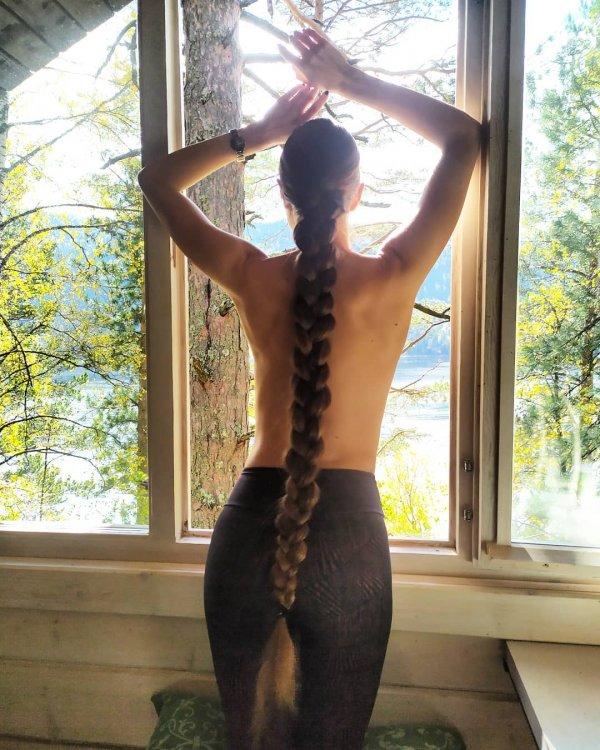 Татьяна Гордикова с косой