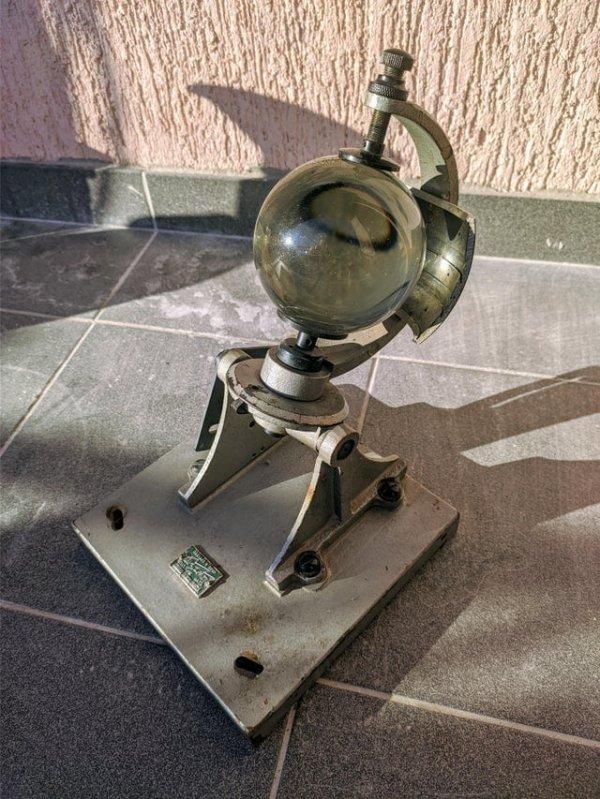 Прибор, который измеряет активность Солнца в разное время дня