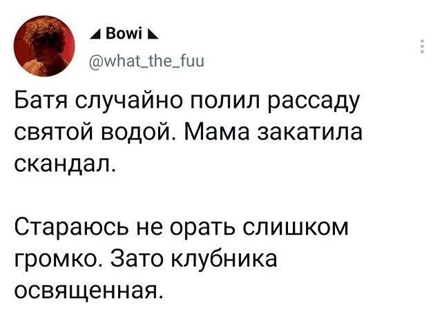 твит про клубнику