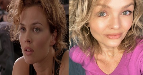 """Дина Майер (""""Звёздный десант, 1997) - тогда 28 лет, сейчас 52 года."""