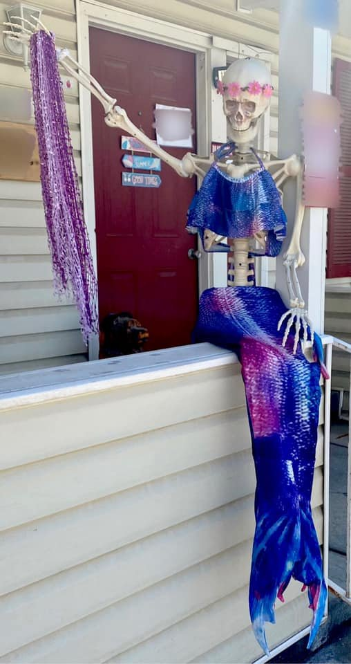 Скелет с дворовой распродажи