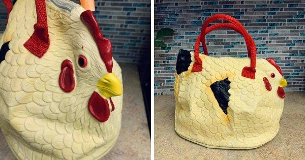 Сумка-курица