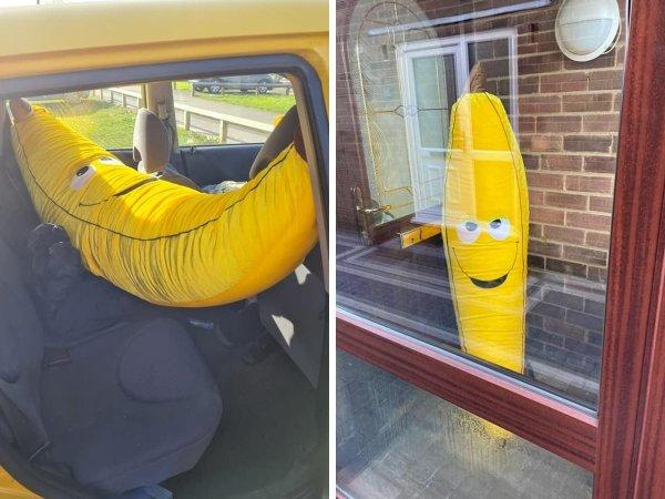 Просто гигантский банан