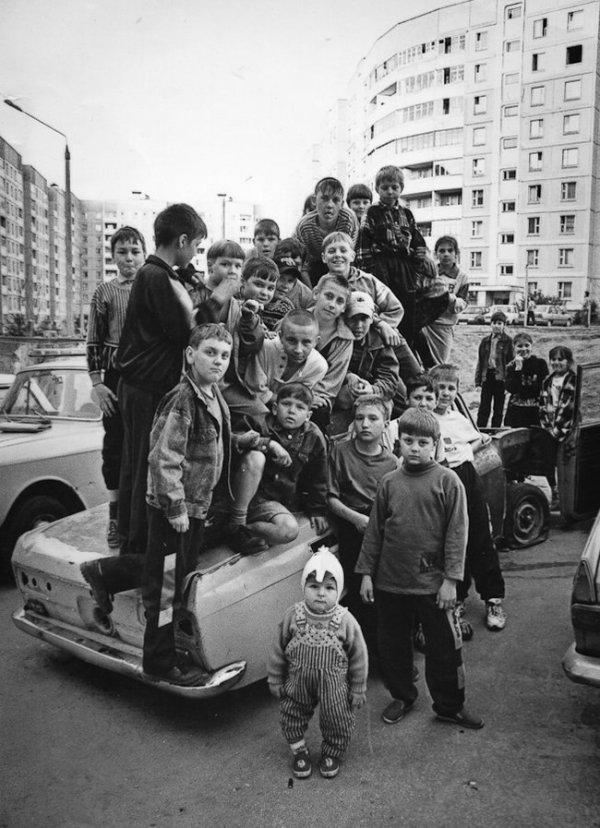 Кадр из детства. Минск, 1990-е годы.