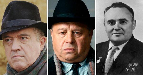 Сергей Королёв в фильмах «Гагарин. Первый в космосе» (2013) и «Время первых» (2017)