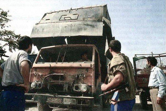 Бронегрузовик, гражданская война в Таджикистане