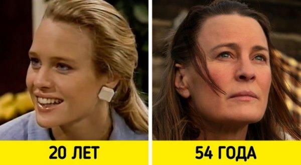 Робин Райт — «Санта-Барбара» (1984–1993) и «Земля» (2021)