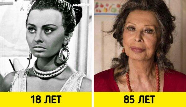 Софи Лорен — «Аида» (1953) и «Вся жизнь впереди» (2020)